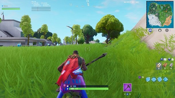 Where Is The New Ping Counter Fortnite How To See Fps On Fortnite Ps4